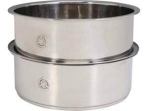 TATUNG TAC-S03 3pcs Stainless Steel Steamer set (Compatible with 6 cup rice cooker)