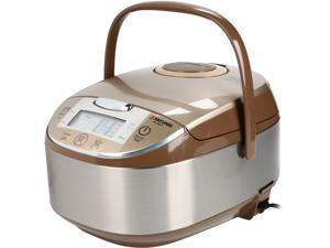 Tatung Micom Fuzzy Logic Multi-Cooker and Rice Cooker, Champagne, 16 Cups Cooked / 8 Cups Uncooked, TFC-5817