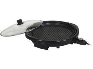 "Elite Gourmet EMG-980B 14"" Electric Indoor Grill, Black"