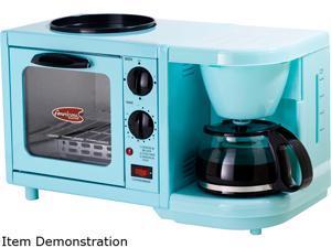 Maxi-Matic Elite EBK-200BL Blue 3-in-1 Multifunction Breakfast Center