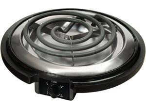 Elite Cuisine Electric Single Burner ESB-300X Black