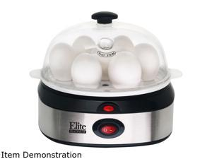 Maxi-Matic Elite EGC-207 Automatic Stainless Steel Easy Egg Cooker