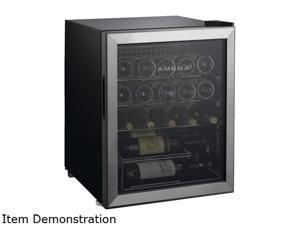 Amana AMAW25S2MS 25-Bottle Single-Zone Wine Cooler with Mechanical Temperature Control Stainless