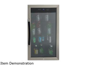 Avanti BCA306SSIS 3.0 cu. ft. Beverage Cooler - Black with Stainless Trim Glass Door