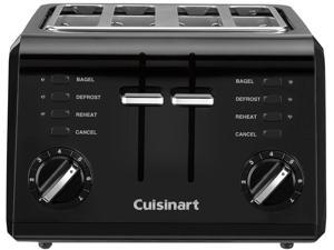 Cuisinart CPT-142BKC Black 4-Slice Compact Toaster