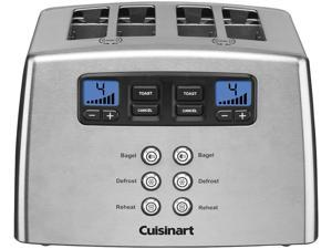 Cuisinart CPT-440C Stainless Steel Countdown Lever-less 4-Slice Toaster