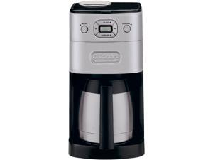 Cuisinart DGB-650C Black/Steel Grind & Brew Thermal 10-Cup Automatic Coffeemaker