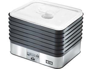 WestonSupply 75-0450-W Black 6 Tray Digital Food Dehydrator Plus