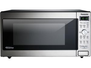 Panasonic 1.6 Cu. Ft. Built-In/Countertop Microwave Oven with Inverter Technology, Stainless Steel NN-SD745S
