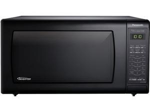 Panasonic 1.6 Cu. Ft. Countertop Microwave Oven with Inverter Technology, Black NN-SN736B