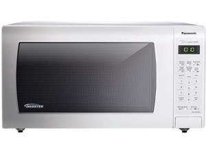 Panasonic 1.6 Cu. Ft. Countertop Microwave Oven with Inverter Technology, White NN-SN736W