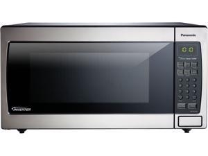 Panasonic 1.6 Cu. Ft. Countertop/Built-In Microwave with Inverter Technology, Stainless NN-SN766S