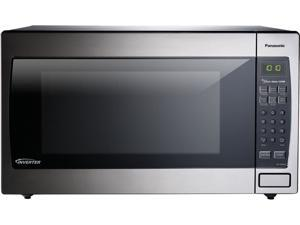 Panasonic 1250 Watts 2.2 Cu. Ft. Stainless Steel Microwave Oven NN-SN966S Silver