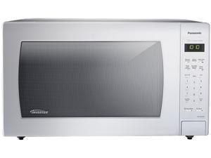 Panasonic 2.2 Cu. Ft. 1250W Genius Sensor Countertop Microwave Oven with Inverter Technology, White NN-SN936W