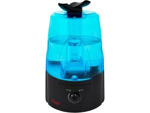 Rosewill RHHD-14002 - Ultrasonic Humidifier - Dual Cool Mist, 1.3 Gallon (5L) Tank Capacity, Auto Shut-Off with LED Night Light - Black