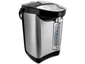 Rosewill Electric Hot Water Boiler and Warmer, 4.0 Liters Hot Water Dispenser, Stainless Steel / Black RHAP-16002