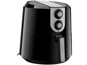 Rosewill RHAF-16003V3 XL Air Fryer 5.8-Quart (5.5-Liter) Extra Large Capacity with Temperature and Timer Settings, 1800W Oil-Less Low-Fat Air Frying