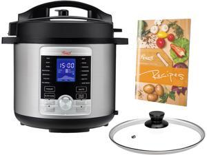Rosewill RHPC-19001 6 Qt Electric Pressure Cooker 10-in-1 Multicooker, Slow Cooker, Rice Cooker, Yogurt, Cake, Eggs, Saute/Searing, Food Steamer, Warmer, Sterilizer w/ 17 Programmable Cooking Presets