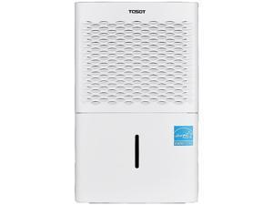 Tosot ECH3105075 50 Pint Dehumidifier White