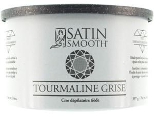 Satin Smooth Silver Tourmaline Wax