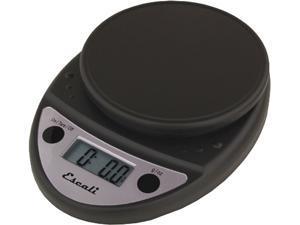 Escali Primo Black Digital Scale 11 Lb / 5 Kg