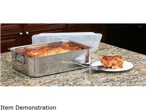Cookpro 531 4-Piece Roaster/Lasagna Pan Stainless Steel