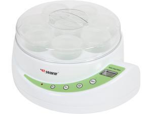 """E-Ware 5K102(G) 12"""" Electric Yogurt Maker, Green"""