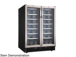 Danby Silhouette DBC2760BLS 5.0 Cu. Ft. Beverage Center, Black/Stainless Steel