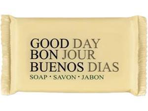 Good Day Amenity Bar Soap, Pleasant Scent, # 1/2, 1000/Carton