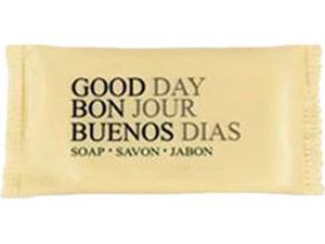 Good Day Amenity Bar Soap, Pleasant Scent, # 3/4, 1000 per carton
