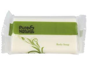 Pure & Natural Body & Facial Soap, # 1 1/2, Fresh Scent, White, 500/Carton