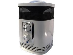 Optimus H-7232 Portable 360 Surround Ceramic Heater with Thermostat
