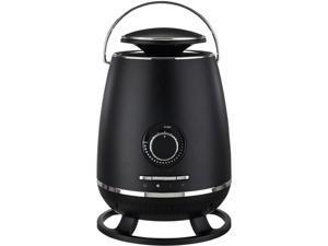 Optimus H-7231BK Portable 360 Surround Ceramic Heater with Thermostat, Black