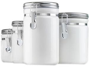 Anchor Hocking 03922MR Ceramic Canister Set