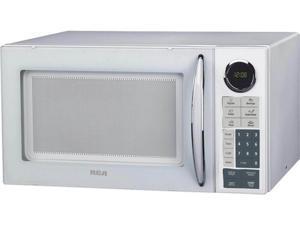 RCA 900 Watts 0.9 CU Ft Microwave White RMW953-WHITE White