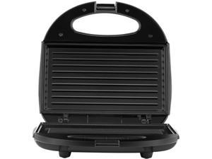 Continental Electric CE23829 2-Serve Indoor Contact Grill, Black