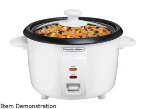 Proctor Silex 37534NR White 8 Cups Rice Cooker