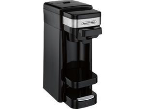 Proctor Silex 49969 Black Single-Serve Coffee Maker (black)