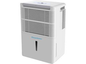 Keystone 30-Pint Dehumidifier with Electronic Controls, White KSTAD30B