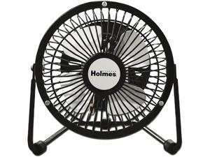 Holmes HNF0410A-BM Mini High Velocity Personal Fan