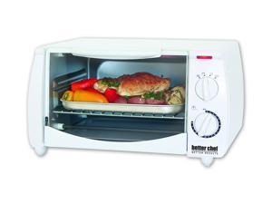 Better Chef IM-255W White 8-Liter Toaster Oven