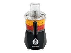 Hamilton Beach 70670 10-Cup ChefPrep Food Processor with Extra Crinkle Cut, Black