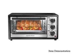 Hamilton Beach 31508 Black 6 Slice Capacity Toaster Oven