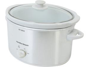Hamilton Beach 33140V Stainless Steel 4 Qt. Slow Cooker