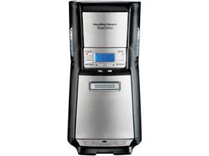 Hamilton Beach 48465 Black/Steel BrewStation Summit Ultra 12 Cup Coffeemaker