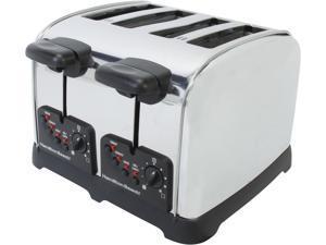 Hamilton Beach 24790 Stainless Steel Classic Chrome 4 Slice Toaster