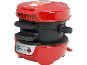 Hamilton Beach 25476 Breakfast Sandwich Maker, Red