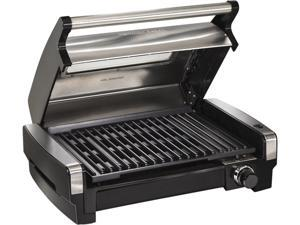 Hamilton Beach 25361 Stainless Steel Electric Indoor Searing Grill