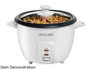 Proctor Silex 37533NR White 10 Cups Rice Cooker
