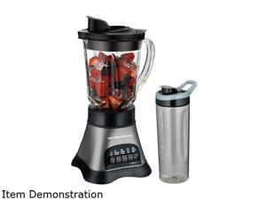 Elite Cuisine EPB-1800 17 Piece Personal Drink Blender with 4 x 16oz   Travel Cups - Newegg com
